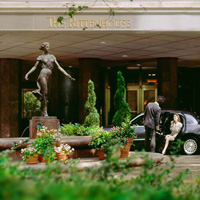 The Rittenhouse Hotel, one of Philadelphia's most elegant hotels